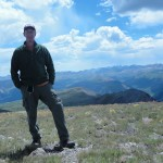 Me on top of Pole Creek Mountain