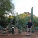 Me with some desert flora.