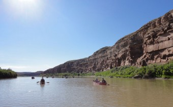Canoe trip on the Green River